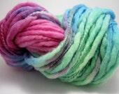 Handpainted Bulky Thick and Thin Yarn - Leta