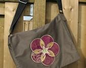 CUSTOM Celtic Applique Messenger Bag