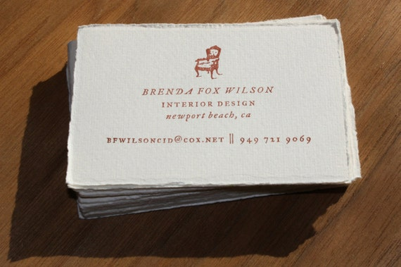 Customized Rubber Stamp for business cards