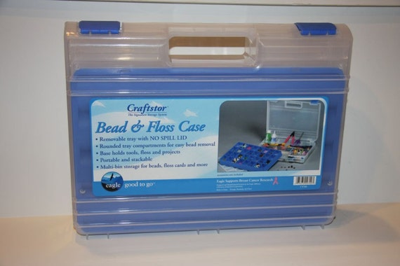 Eagle / Craftstor Bead and Floss Storage Case Brand New