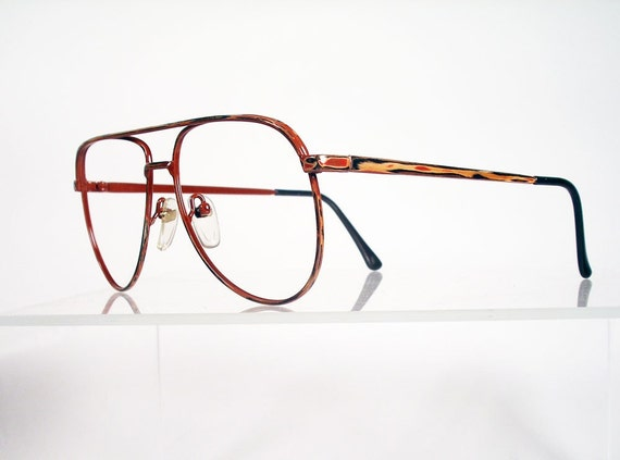 Quirky Eyeglass Frames : Vintage Mens Drivers Style Eyeglass Frames with Unusual