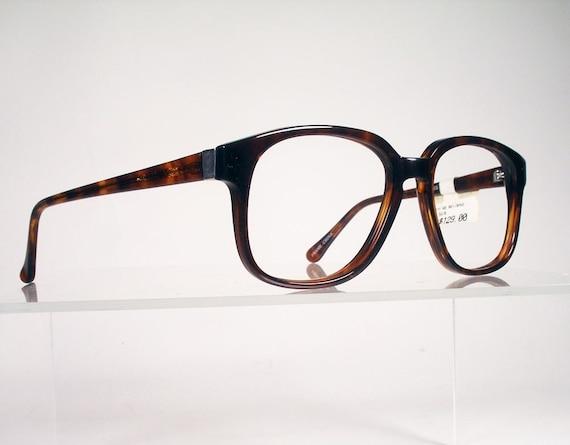 MACARIUS Aelianus Tortoise Hornrim Eyeglass Frames NEW OLD STOCK