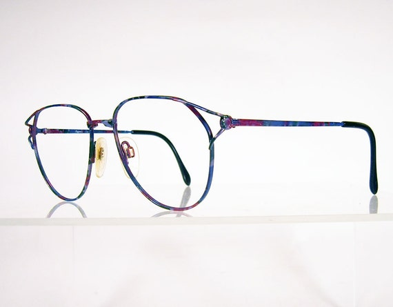 charmant multi colored wire eyeglass frames by chigal on etsy