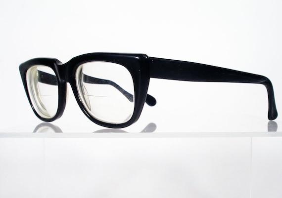 Black Frame Glasses Ragnarok Quest : Vintage RODENSTOCK Rocco Thick Black Hornrim Style Eyeglass
