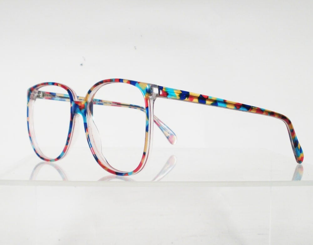Glasses Frames That Change Color : AUSTRALIAN OPTICAL Drover Multi Colored Eyeglass Frames