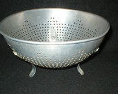 Vintage Primitive Colander Farmhouse