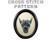 DIY Gargoyle  - .pdf Original Cross Stitch Pattern - Instant Download