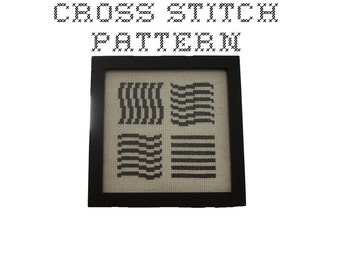 DIY The Fifth Element  - .pdf Original Cross Stitch Pattern - Instant Download
