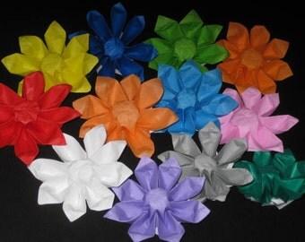 12 Origami Flowers