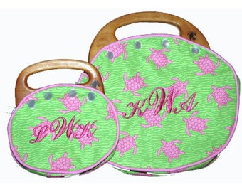 MOMMY & ME Bermuda Bag Set Custom Made