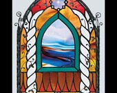 Curliosity- The Stained Glass Artistry of M. Skip Vasquez