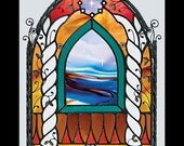 BOOK- Curliosity, The Stained Glass Artistry of M. Skip Vasquez