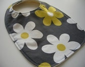 CLEARANCE SALE- Eco Baby/Toddler Bib - Retro Flowers