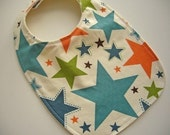 CLEARANCE SALE - Eco Baby/Toddler Bib - All Stars