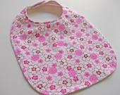 CLEARANCE SALE -Organic Baby/Toddler Bib - Sweet Jane