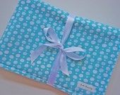 CLOSEOUT SALE- Organic Collection Baby Blanket - Bubbles