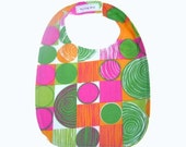 CLEARANCE SALE - Organic Baby/Toddler BIb--Bright Baby