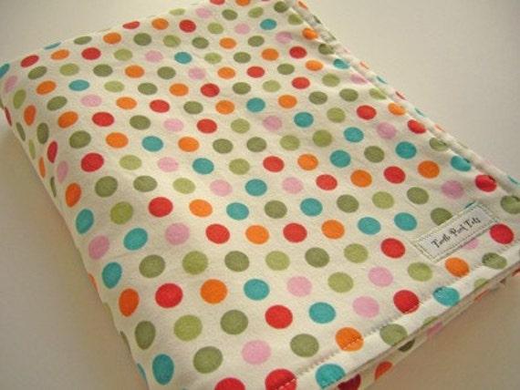 Happy Dots Eco Baby Blanket