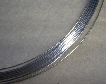 22 ga. 10 ft. ARGENTIUM STERLING SILVER Wire Round, Dead Soft Anti Tarnish