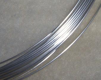 26 ga. 10 ft.  ARGENTIUM STERLING SILVER Wire Round, Dead Soft Anti Tarnish