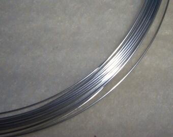 20 ga. 2 ft .  ARGENTIUM STERLING SILVER Wire Round, Dead Soft 20g  Anti Tarnish