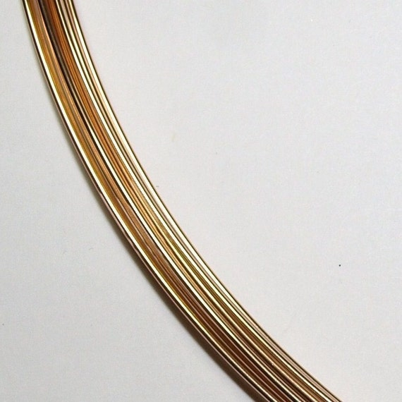 20 ga. 20 ft. 14kt GOLD FILLED wire - round, half hard