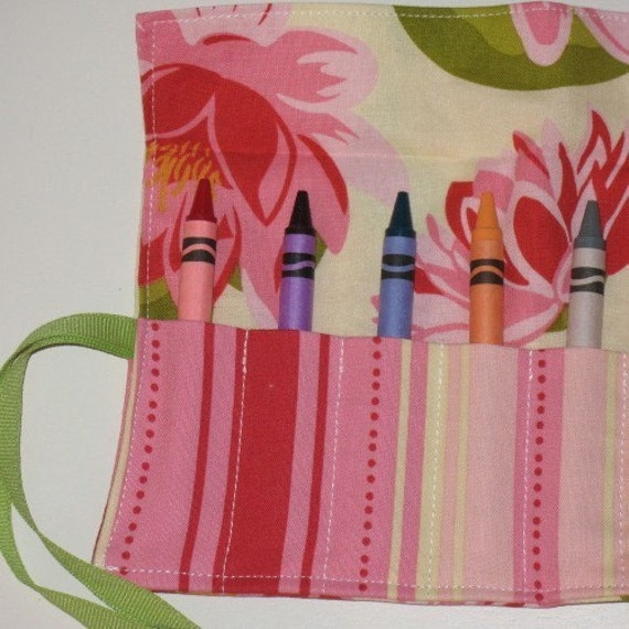 Water Lily Crayon Caddy