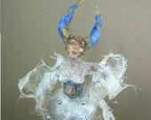 SALE  OOAK art doll. Meditation. Reconstruction of the Inner Self  SALE