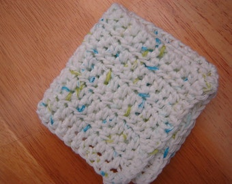 Crochet Dishcloth-Summer Prints