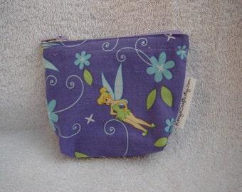 Mini Zippered Pouch-Lilac Tinkerbell (Mini 45)