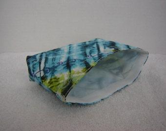 Eco Bag-Small-Blue & Green Tie Dye (Eco 4-S)
