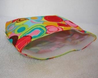 Eco Bag-Medium-Retro Circles (Eco 19-M)