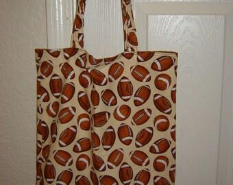 Large Tote-Football Tote (Bag 101)