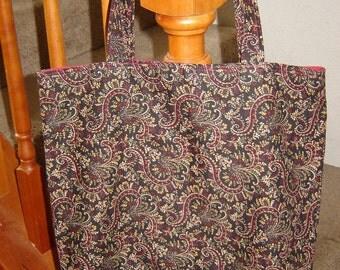 Large Tote-Kensington Paisley (Bag 254)