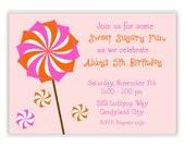 Sweet Sugary fun birthday