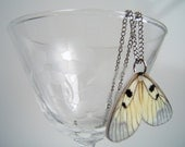 Yellow Butterfly Wing-- Necklace