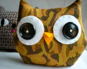 Sew a Softie, Owl Cat Monster Thing Complete Kit and Tutorial - WonkyGiraffe