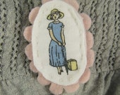 Fancy Lady Brooch Travel