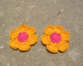 Crochet Flower Accessories
