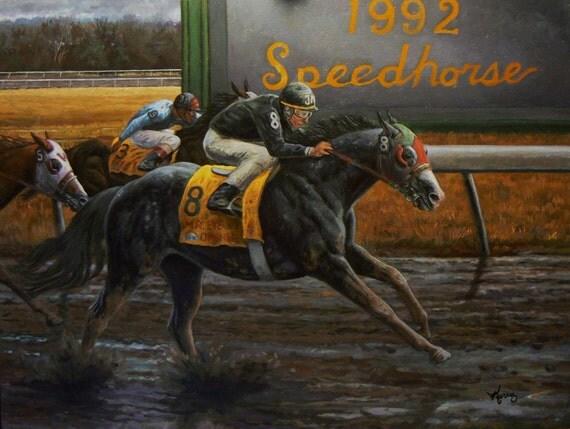 QUARTER HORSE RACING o...