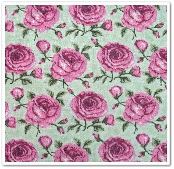 Destash Lot of Fabric Roses Flowers Cotton Velveteen