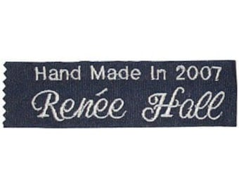 Personalized Quilt Labels (set of two) Embroidered Personalized