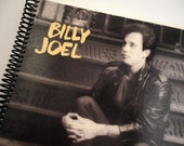 Record Sleeve Notebook - Billy Joel