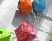 10 Origami Lights - Rainbow Shades
