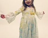 Poor Pitiful Pearl Kids Lace Apron Dress