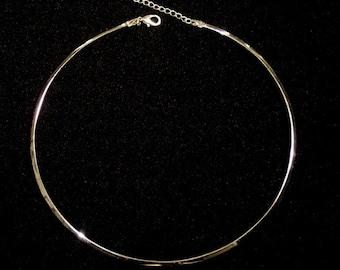 Adjustable Choker Neck Ring, Choker Necklace