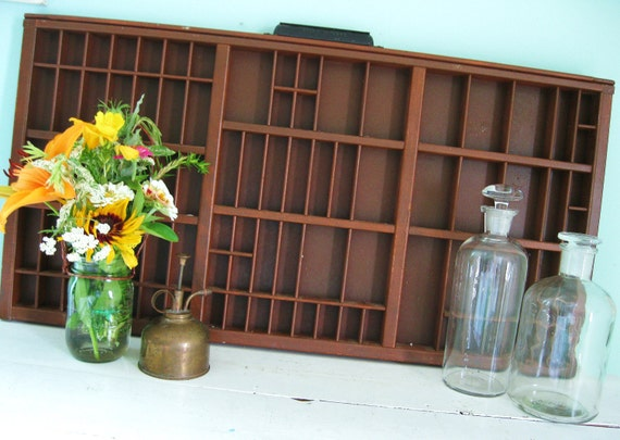 Little Collections... Vintage Hamilton Printers Drawer Letterpress Drawer Type Tray