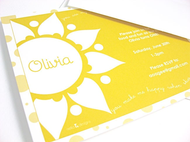 you are my sunshine invitations you are my sunshine party