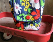 Pop Floral Insulated Picnic Tote