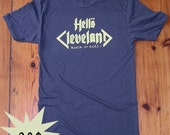 HELLO CLEVELAND T-Shirt  \/  SPECIAL PRICE